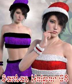 Santas Helper Genesis 8 Female Daz Studio