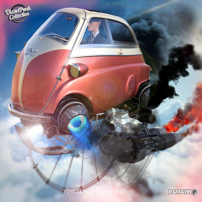 DieselPunk-Flying Egg for DS