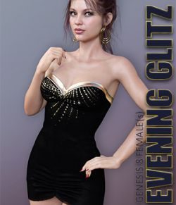 Evening Glitz for Genesis 8 Females