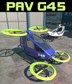 Personal Aerial Vehicle for Poser