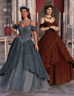 Princess Ensemble Textures