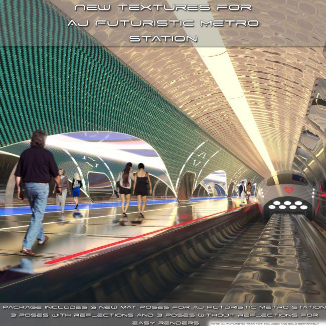 New Textures For AJ Futuristic Metro Station