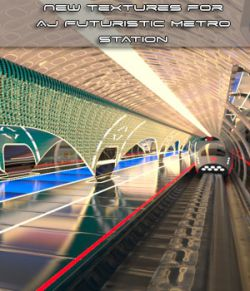 New Textures For AJ Futuristic Metro Station