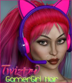 Twizted Gamer Girl Hair