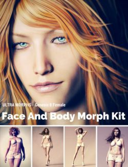 Face and Body Morph Kit for Genesis 8 Female