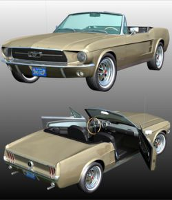 FORD MUSTANG 1967 for POSER