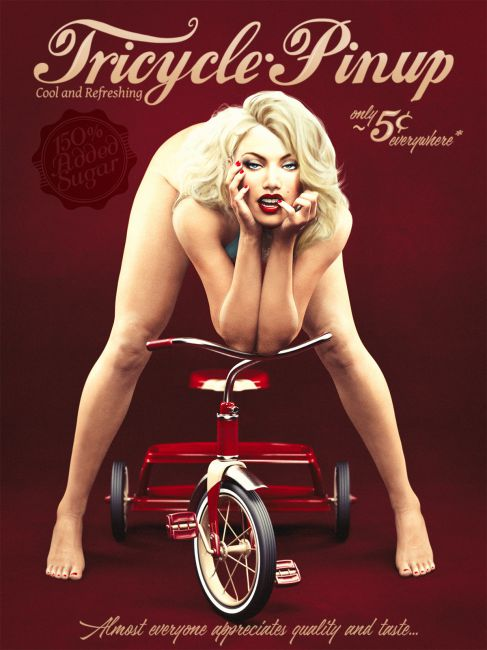 Tricycle Pinup