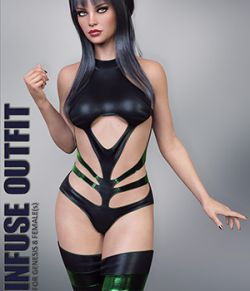 Infuse Outfit for Genesis 8 Females