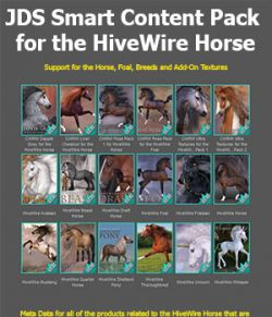 JDS Smart Content Pack for the HiveWire Horse
