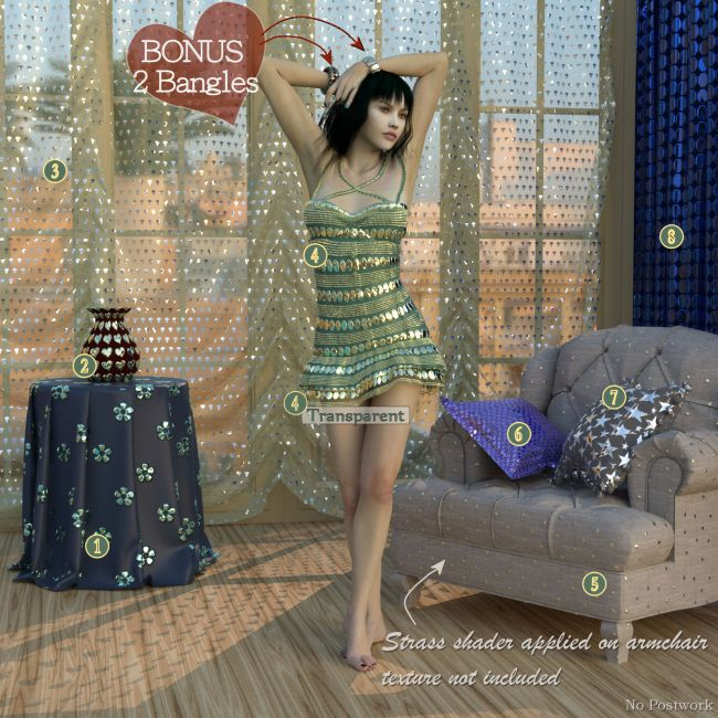 Strass it ! IRAY Shaders for DAZ