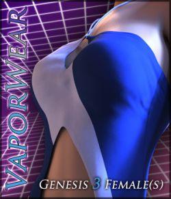 VaporWear for Genesis 3 Females