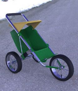 Stroller 2- for DAZ Studio
