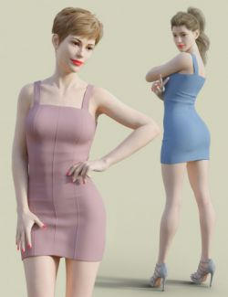 H&C Club Dress D for Genesis 3 & 8 Female