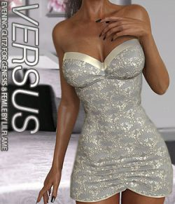 VERSUS - Evening Glitz for Genesis 8 Females