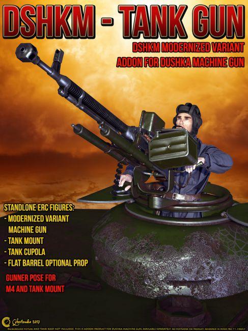 DShKM - Tank Gun
