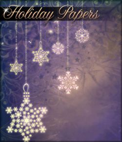 Holiday Papers Background Mini Pack