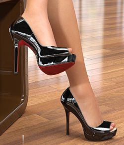 Peep-Toe Platform Pumps For G8F