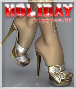 Holiday Jeanne Heels G8F