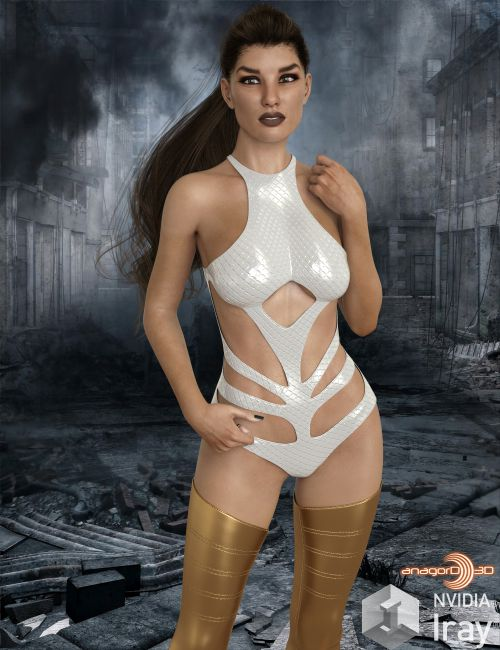 BLACKHAT - Infuse Outfit for Genesis 8 Females