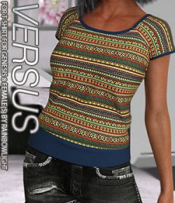 VERSUS - T-shirt for Genesis 8 Female