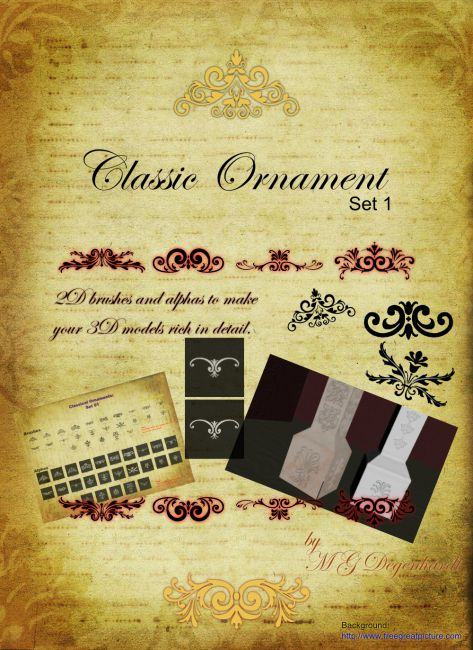 Classic Ornament - Set 1