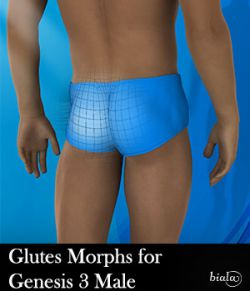Glutes Morphs for Genesis 3 Male