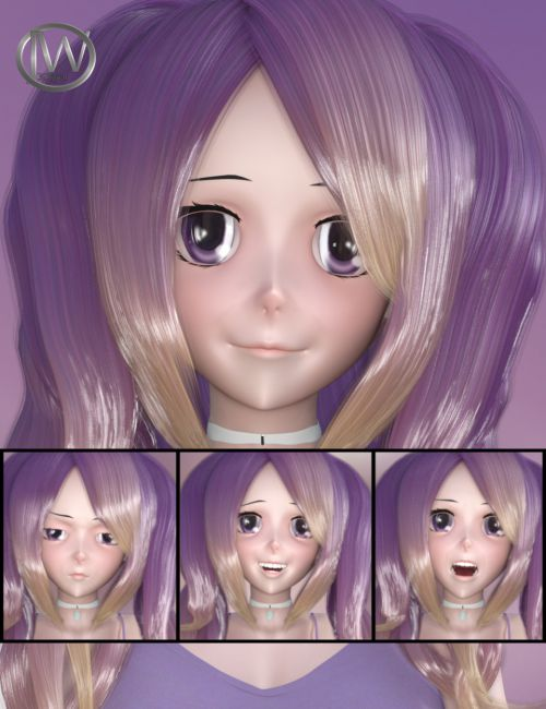 Doll Faces - Expressions for Sakura 8