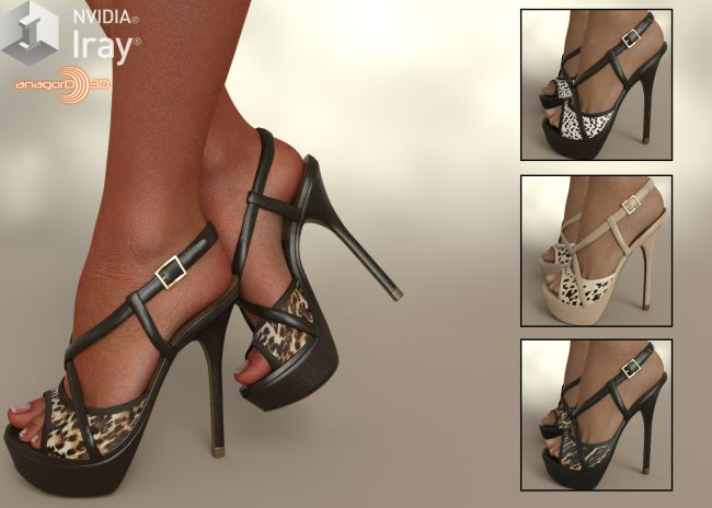 COSMOPOLITAN - DMs Sassy Heels for G8F and G3F