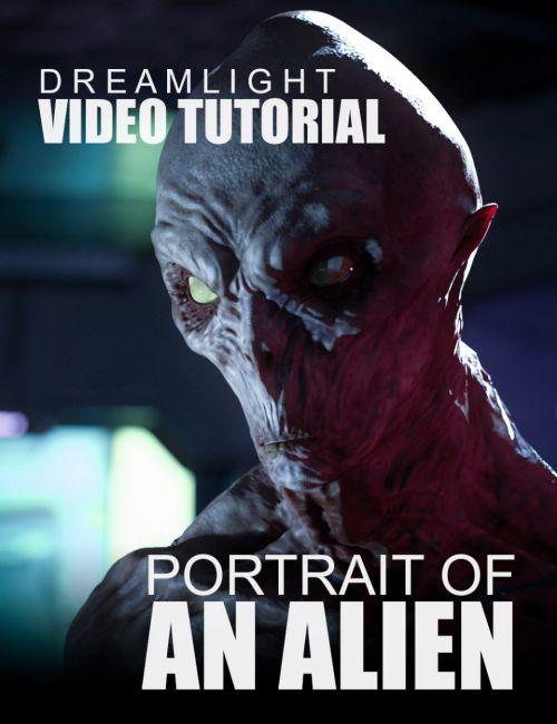 Portrait Of An Alien - Video Tutorial