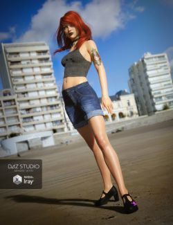 UltraHD IRAY HDRI With DOF - Seaside Resort