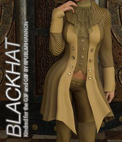 BLACKHAT - Kindred for the Genesis 3 and Genesis 8 Females