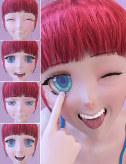 Anime Expressions for Sakura 8