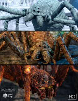 Giant Monster Spider Skin Pack