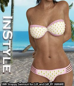 InStyle- JMR Strappy Swimsuit for G3F and G8F