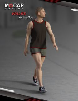 Walks Animation Collection- Michael 8