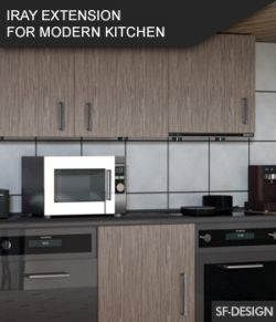 Iray Material Extension for Modern Kitchen