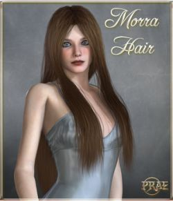 Prae-Morra Hair For V4/M4 Poser