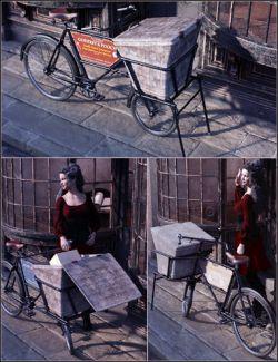 Vintage Shop Bicycle