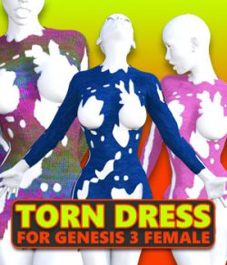 Torn Dress for G3 females