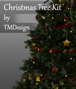 Christmas Tree Kit for Daz Studio Iray