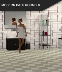 Modern Bathroom 2.0 for Daz Studio