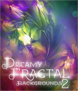 Dreamy Fractal Backgrounds 2