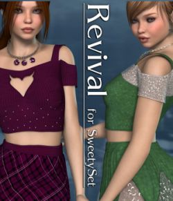 Revival for Sweety Set V4_Poser