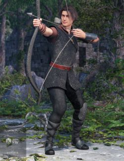 Striker of Shadows Outfit for Genesis 8 Male(s)