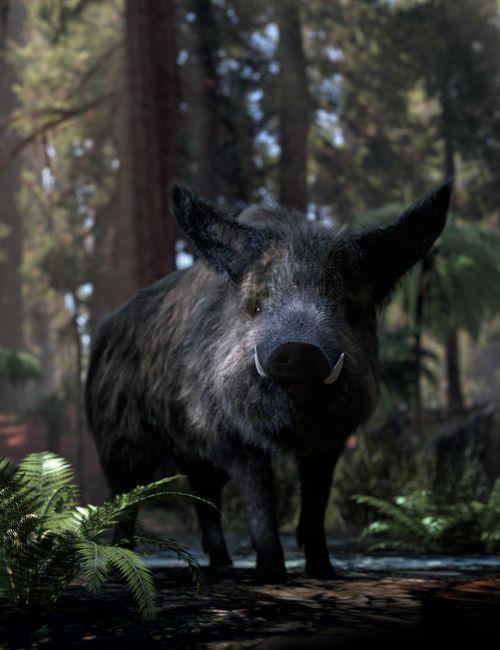 Wild Boar by AM