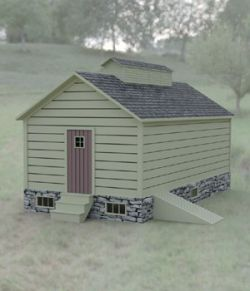 Ice House for DAZ Studio