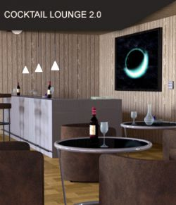 Cocktail Lounge and Bar 2.0 for Daz Studio
