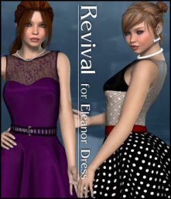 Revival for Eleanor Dress V4_Poser