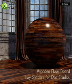 15 Floor Board Iray Shaders- Merchant Resource