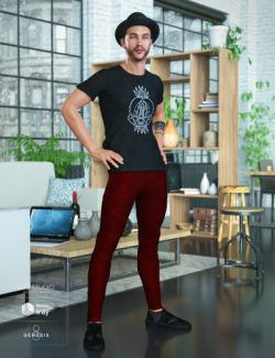 Hipster Outfit for Genesis 8 Male(s)